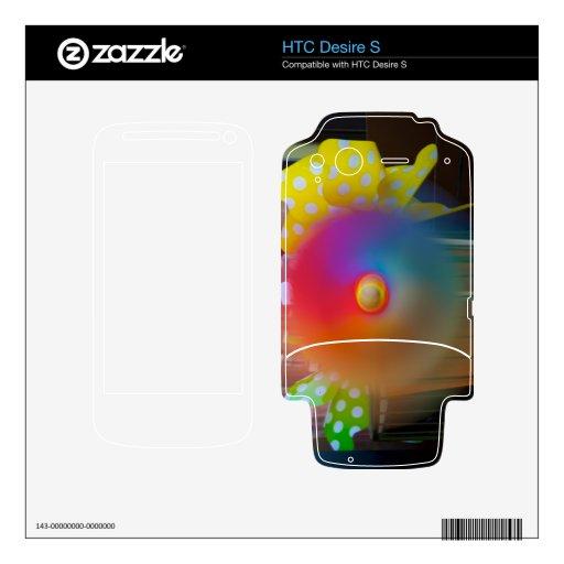 Hilandero del arco iris calcomanía para HTC desire s