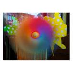 Hilandero del arco iris plantillas de tarjetas de visita