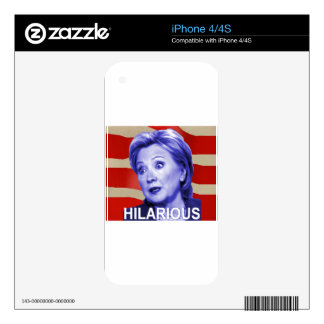 Hilarious 2016 decal for the iPhone 4