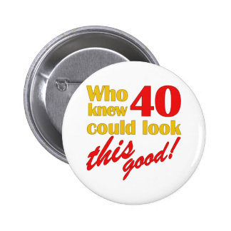 Hilarious 40th Birthday Gifts Pin