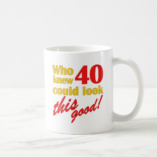 Hilarious 40th Birthday Gifts Coffee Mug