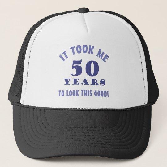 Hilarious 50th Birthday Gag Gifts Trucker Hat