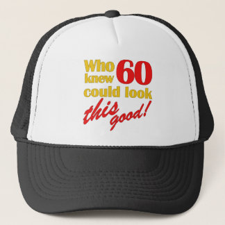 Hilarious 60th Birthday Gifts Trucker Hat