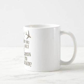 Hilarious Airline Joke Shirt Coffee Mug