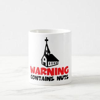 Hilarious atheist coffee mug