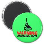 Hilarious atheist refrigerator magnet
