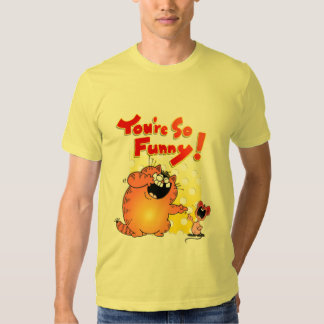 Hilarious Cat + Mouse | Funny Cat and Mouse Tshirts