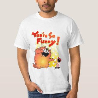 Hilarious Cat + Mouse T-Shirt