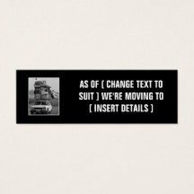 Funny moving business cards templates zazzle colourmoves Image collections