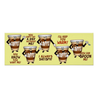 Hilarious Coffee Talk Poster