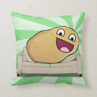 Hilarious Couch Potato Throw Pillow