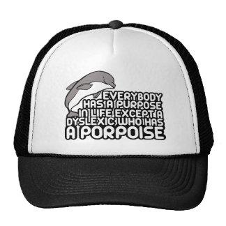 Hilarious dyslexia joke trucker hat