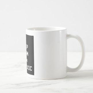 Hilarious dyslexic coffee mug