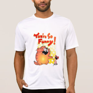 Hilarious Fat Cat + Mouse | Funny Fat Cat + Mouse T-Shirt