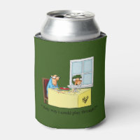 Hilarious Golf Humor Can Cooler Gift