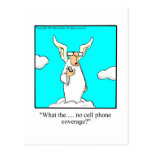 Hilarious Heavenly Gift Idea! Post Card