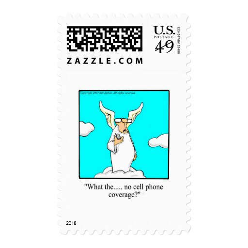 Hilarious Heavenly Gift Idea! Stamp
