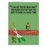 Hilarious Irish birthday Cards