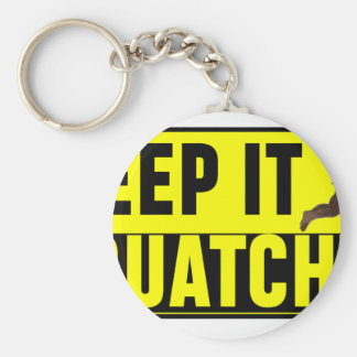 Hilarious Keep it Squatchy! Keychain