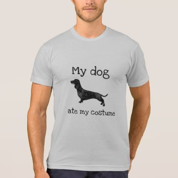 Halloween Themed Hilarious My dog ate my costume Halloween T-Shirt