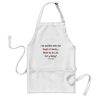 Hilarious Nurse T-Shirts and Gifts Adult Apron