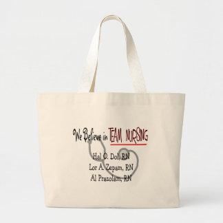 Hilarious Nurse T-Shirts and Gifts Jumbo Tote Bag