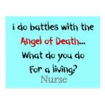 Hilarious Nurse T-Shirts and Gifts Postcard
