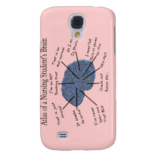 "Hilarious Nursing Student ""Brain"" Gifts Samsung S4 Case"