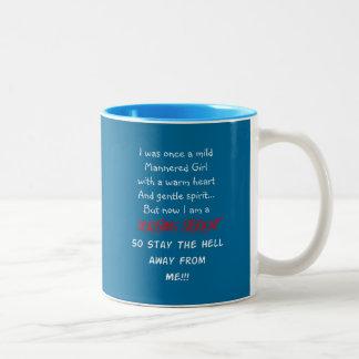 Hilarious Nursing Student Gifts Two-Tone Coffee Mug