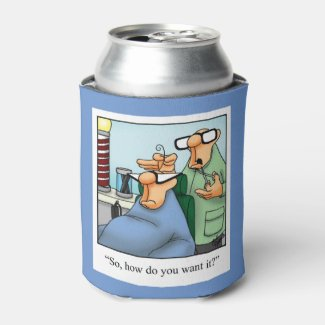 Hilarious Over The Hill Humor Can Cooler Gift