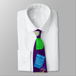 Hilarious Pharmacist Prescriptions Purple Tie