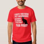 Hilarious Pick Up Line: Cat Tshirts
