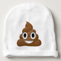 Hilarious poop-emoji - Poo cartoon design Baby Beanie