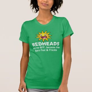 Hilarious Redhead BFF T-Shirt
