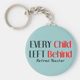 Hilarious Retired Teacher Gifts Keychain