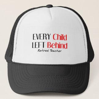 Hilarious Retired Teacher Gifts Trucker Hat