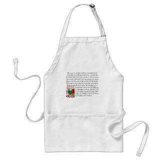 Hilarious Retirement Card--From The Gang! Adult Apron