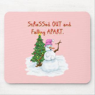 Hilarious Snow (lady) cartoon Mouse Pad