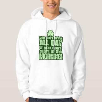 Hilarious St Patricks Day Drinking Hoodie