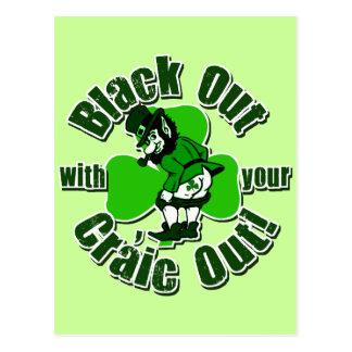 Hilarious St. Patrick's Day T-shirts Postcard