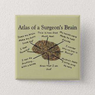 Hilarious Surgeon Gifts Button