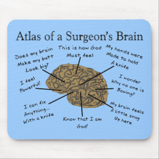Hilarious Surgeon Gifts Mouse Pad
