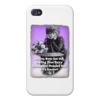 Hilarious Vintage for a Gal Down on Luck Cover For iPhone 4