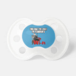 Hilarious wi-fi baby pacifiers