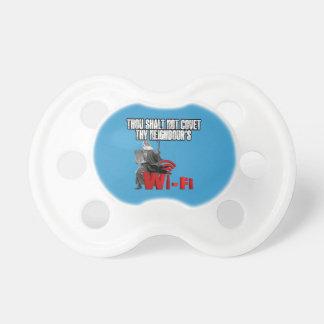 Hilarious wi-fi pacifier