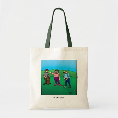 Hilarious Womans Golf Tote Gift