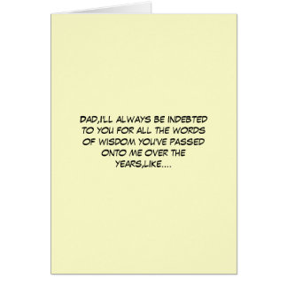 Hilariously silly Father's Day Greeting Cards