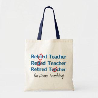 Hilarous retiró los regalos del profesor bolsa lienzo