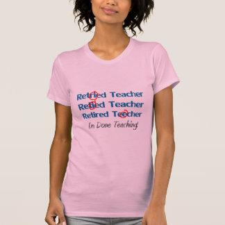 Hilarous retiró los regalos del profesor t shirts