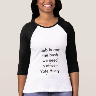 Hilary 2016 t-shirts